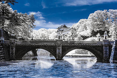 Photograph - The Infrared Bridge by Jason Chu