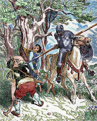 The Ingenious Hidalgo Don Quixote Of La Art Print by Prisma Archivo