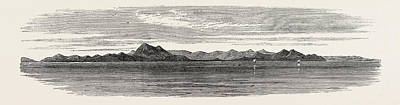 The Inland Sea Of Japan Island Of Hime-sima Art Print by Japanese School