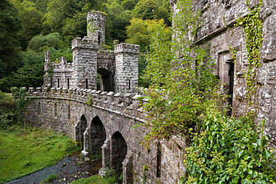 Gothic Revival Photograph - The Inner Gates And Bridge by Panoramic Images