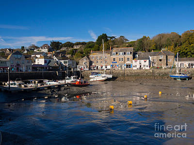 Sailboat Photograph - The Inner Harbour At Padstow by Louise Heusinkveld