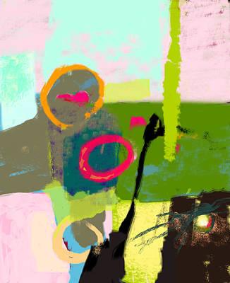 The Inner Landscape Art Print by Catchy Little Art