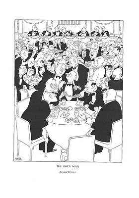 The Inner Man  Annual Dinner Art Print