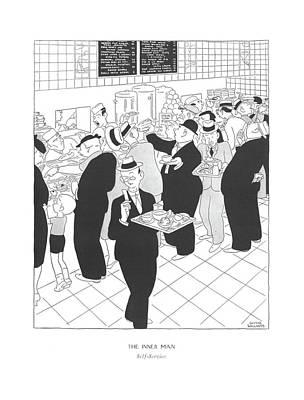 The Inner Man  Self-service Art Print