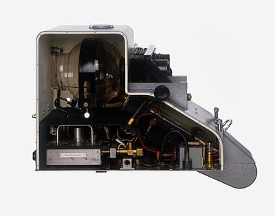 The Inside Of A Television Camera Art Print by Dorling Kindersley/uig