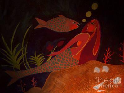 Art Print featuring the digital art The Intruder by Latha Gokuldas Panicker