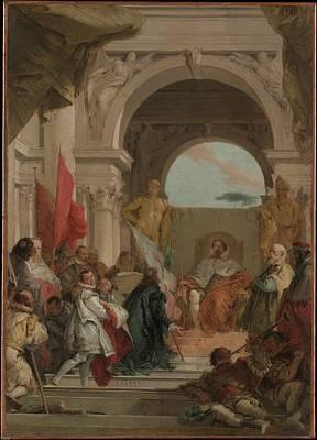 Giovanni Battista Tiepolo Painting - The Investiture Of Bishop Harold by Giovanni Battista Tiepolo