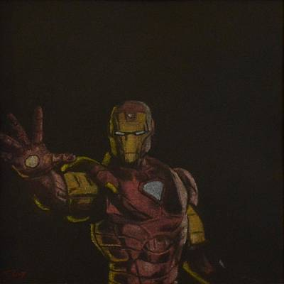 The Invincible Iron Man Art Print by Will Dudley