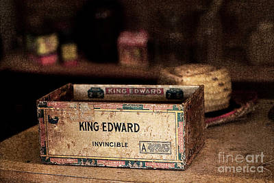 The Invincible King Edward Cigar Art Print