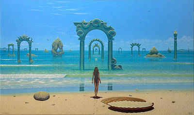 Painting - The Invisible Path by Tuco Amalfi