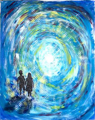Painting - The Invitation by Julie Merrett