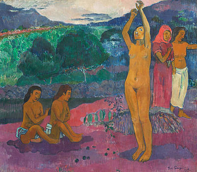Erotica Painting - The Invocation by Paul Gauguin