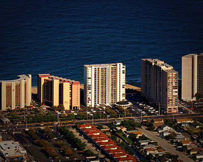 Photograph - Irene Condominium Ocean City Md by Bill Swartwout Fine Art Photography