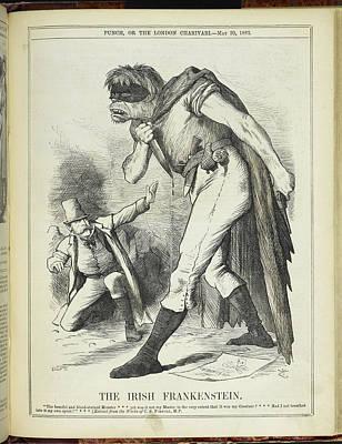The Irish Frankenstein Art Print by British Library