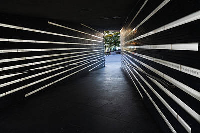 Photograph - The Irish Hunger Memorial - Manhattan New York City U S A by Georgia Mizuleva