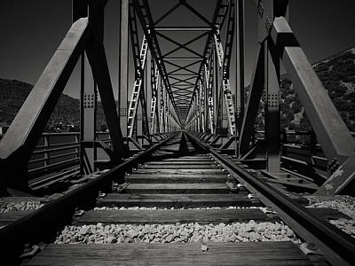 Black And White Photograph - The Iron Bridge by Antonio Jorge Nunes