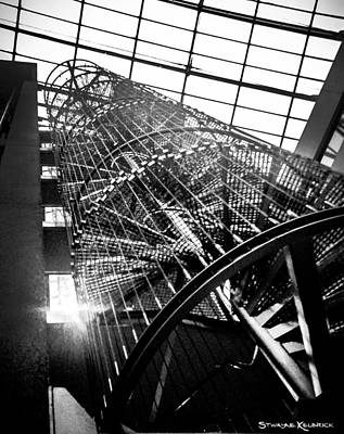 Photograph - The Iron Hell Stairs by Stwayne Keubrick