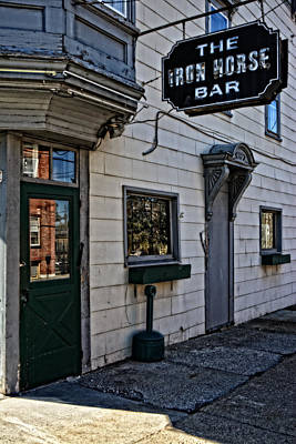Photograph - The Iron Horse Bar by Mike Martin