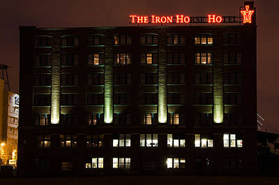 Photograph - The Iron Horse Hotel by Susan McMenamin
