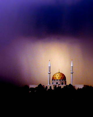 Photograph - The Islamic Center Of Greater Toledo Oh by Jodie Marie Anne Richardson Traugott          aka jm-ART
