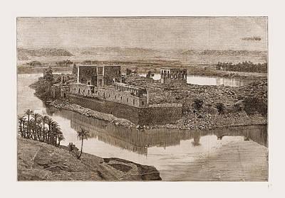 The Island Of Philae, The Nile, Egypt, 1880 Art Print