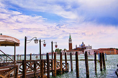 Photograph - The Island Of San Giorgio Venice by Brenda Kean