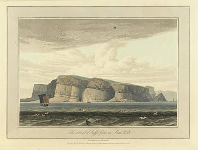 Landscape Of The Year Photograph - The Island Of Staffa From The South West by British Library