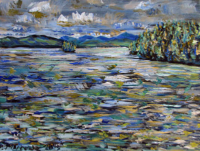 Painting - The Islands Off Canaras by Denny Morreale