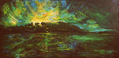 Painting - The Isle by Lyndsey Hatchwell