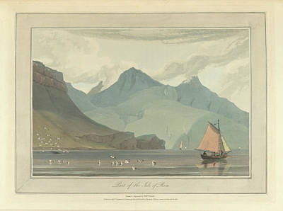 The Isle Of Rum Art Print by British Library