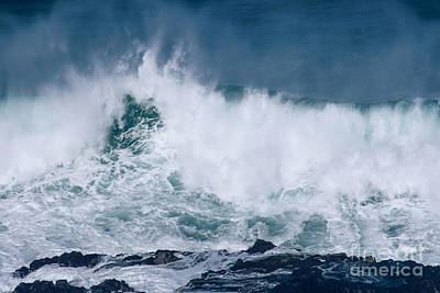 Photograph - Peahi At Opana Point Maui North Shore Hawaii  by Sharon Mau
