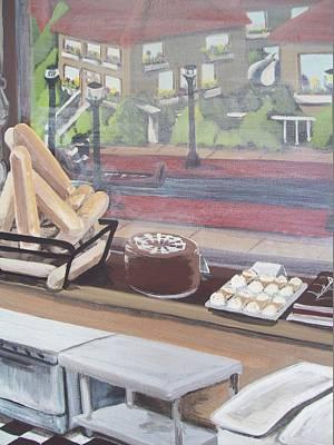 Italian Bakery Painting - The Italian Bakery by Gerard Provost