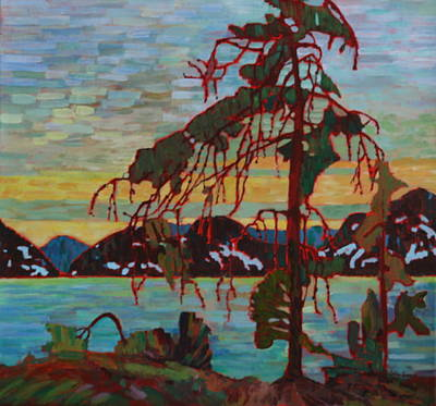 The Jack Pine After Tom Thomson Art Print by Betty-Anne McDonald