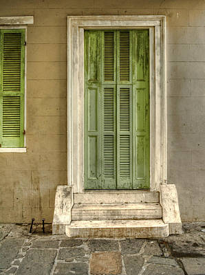 Photograph - The Jackson House Door by Chrystal Mimbs