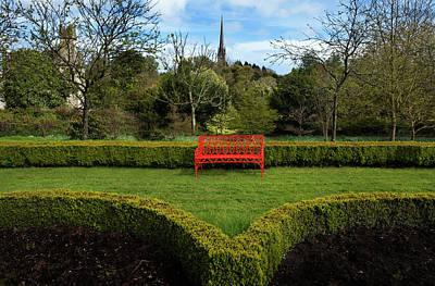 Pleasure Photograph - The Jacobean Top Garden,lismore Castle by Panoramic Images