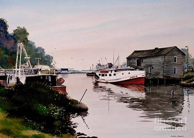 Pickerel Painting - The James B by Michael Swanson