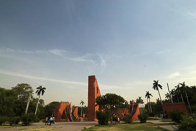 Photograph - The Jantar Mantar Complex by Rajiv Chopra