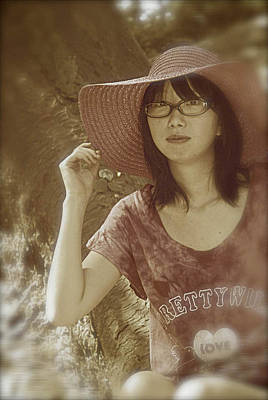 Photograph - The Japanese Girl by Tim Ernst
