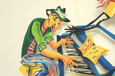 Marina Zlochin Sculpture - The Jazz Band by Marina Zlochin