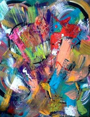 Painting - Jazz Abstract Painting by Kelly Turner