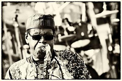 Photograph - The Jazz Man by Nicholas Evans