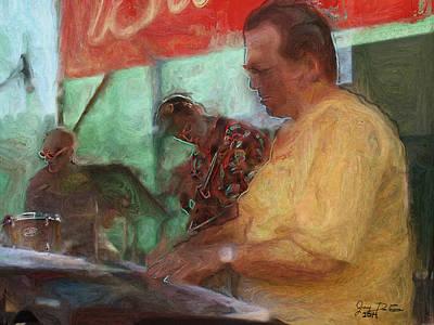 Photograph - The Jazz Trio by Gary De Capua