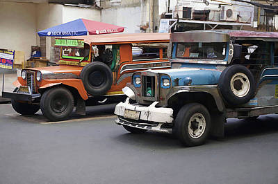 Photograph - the Jeepney by Ron Roberts