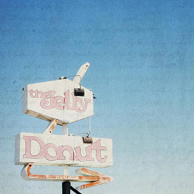 Photograph - The Jelly Donut - California - Square by Lisa Parrish