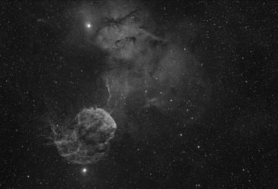 Photograph - The Jellyfish Nebula by Brian Peterson