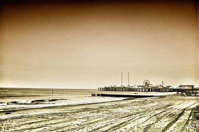 Pier Digital Art - The Jersey Shore by Bill Cannon