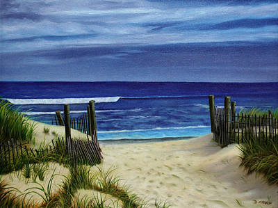 Painting - The Jersey Shore by Daniel Carvalho