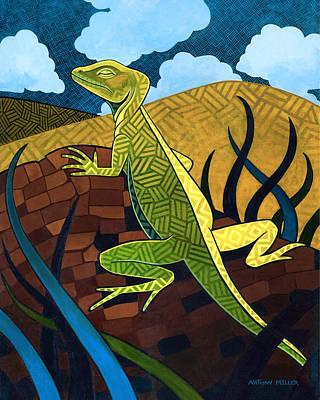The Jesus Lizard Original by Nathan Miller