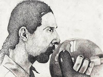 Lebowski Drawing - The Jesus by Paul Smutylo