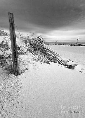 Storm Clouds Cape Cod Photograph - The Jetty by Michelle Wiarda